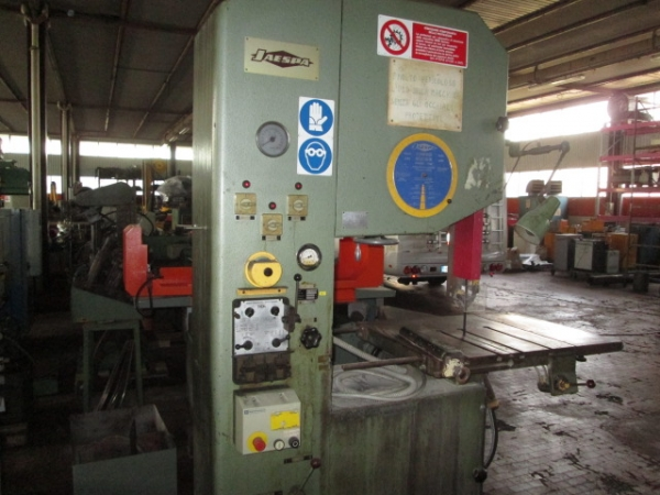 Segatrice verticale usata JAESPA MOD. AS6 - vertical sawing machine